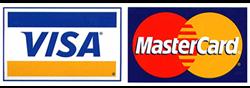 Payments by VISA Mastercard